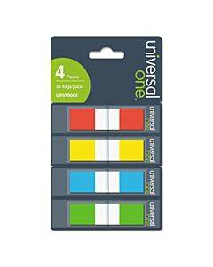 Page Flags, Assorted Colors, 35 Flags/dispenser, 4 Dispensers/pack
