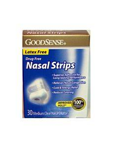 Nasal Strips, Medium, Clear (30 Count) Part No. Aso00419 (30/box)