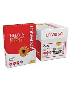 Copy Paper Convenience Carton, 92 Bright, 20lb, 8.5 X 11, White, 500 Sheets/ream, 5 Reams/carton
