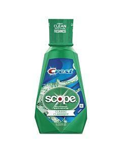 + Scope Mouth Rinse, Classic Mint, 1 L Bottle