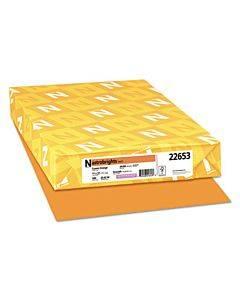 Color Paper, 24 Lb, 11 X 17, Cosmic Orange, 500/ream
