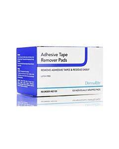 Dermarite Industries Adhsesive Tape Remover Pads Model: 82100 (100/bx)