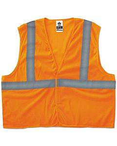 Glowear 8205hl Type R Class 2 Super Econo Mesh Vest, Orange, 2xl/3xl