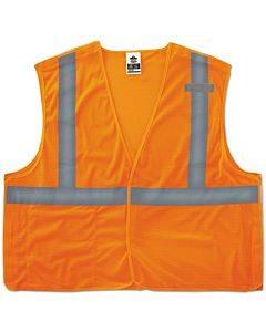 Glowear 8215ba Type R Class 2 Econo Breakaway Mesh Vest, Orange, L/xl