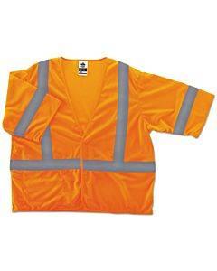 Glowear 8310hl Type R Class 3 Economy Mesh Vest, Lime, 2xl/3xl