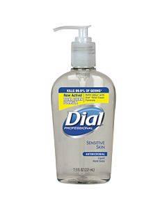 Antimicrobial Soap For Sensitive Skin, 7.5 Oz Decor Pump Bottle, Floral, 12/ct