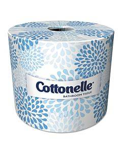 Two-ply Bathroom Tissue,septic Safe, White, 451 Sheets/roll, 20 Rolls/carton