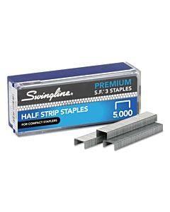 "S.f. 3 Premium Staples, 0.25"" Leg, 0.5"" Crown, Steel, 5,000/box"