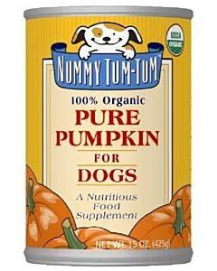 Nummy Tum-tum Pure Pumpkin - Organic - Case Of 12 - 15 Oz.