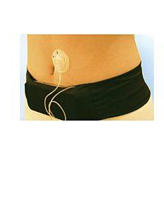 """Medi-belt Insulin Pump Belt, 33"""" - 45"""", Large, Black Part No. Medibeltl (1/ea)"""