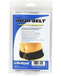 """Medi-belt Insulin Pump Belt, 45"""" - 55"""", X-large, Black Part No. Medibeltxl (1/ea)"""