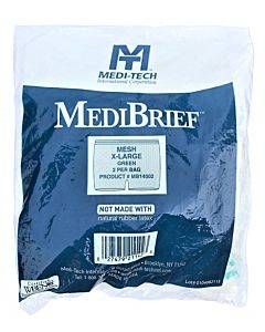 """Medibrief Mesh Brief X-large Up To 62"""", Green Waistband Part No. Mb14002 (2/package)"""