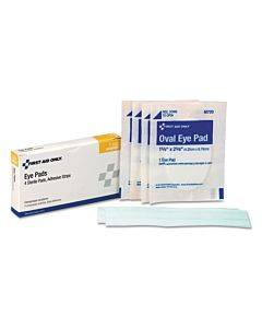 Ansi 2015 Compliant First Aid Kit Refill, 8 Pieces, 4/box