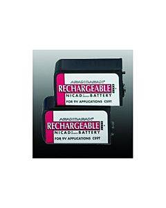 Emsi Battery-9v Nicad (pair) Rechargeable Part No.rech Battery (pair)