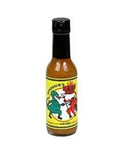 Dinosaur - Devils Duel Habanero Pepper Sauce - Case Of 12 - 5 Oz.