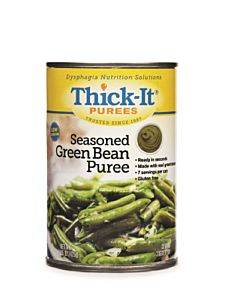 Thick-it Seasoned Green Beans Puree 15 Oz. Can Part No. H305 (12/case)