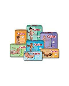 First Quality Cuties Baby Diapers Model: Cr2001 (168/Ca)
