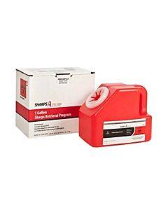 Sharps Disposable Mail System, 1 Gal Part No. 11000018 (1/ea)