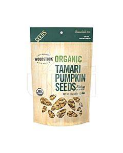 Woodstock Organic Tamari Pumpkin Seeds - OG2 - 9 Oz.