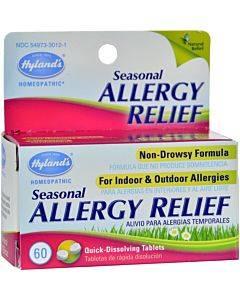 Hylands Homepathic Seasonal Allergy Relief - 60 Tablets