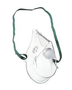 Medline Industries   Oxygen Mask Adult W/7' Tubing Medium Concentration (Each) Part No.Hcs4600b