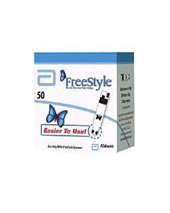 Freestyle Blood Glucose Test Strip (50 Count) Retail Part No. 120500 (50/box)