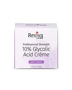 Reviva Labs - 10% Glycolic Acid Renaissance Cream - 1.5 Oz