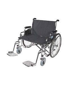 Drive Medical Design 26in Sentra Ec Heavy Duty Wheelchair Model: Std26ecdda (1/Ea)