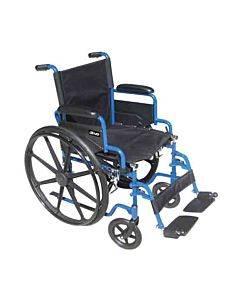 Drive Medical Design Blue Streak Wheelchair  Model: Bls20fbd-sf (1/ea)