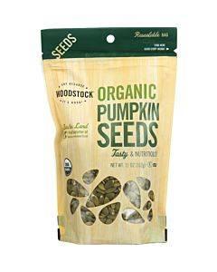 Woodstock Organic Pumpkin Seeds - Case Of 8 - 11 Oz.