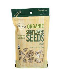 Woodstock Organic Sunflower Seeds - Hulled - Case Of 8 - 12 Oz.