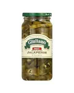 Giuliano's Specialty Foods - Nacho Sliced - Jalapeno - Case Of 6 - 16 Oz.