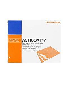 """Acticoat Seven Day Antimicrobial Barrier Dressing 6"""" X 6"""" Part No. 20241 (1/ea)"""