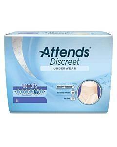 Attends Discreet Underwear, Women's Medium Size 8-14 Part No. Aduf20 (20/package)