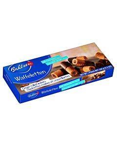 Bahlsen Waffeletten Milk Chocolate Cookies - Case Of 12 - 3.5 Oz.