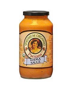 Paesana Organic Vodka Sauce - Tomato - Case Of 6 - 25 Oz.