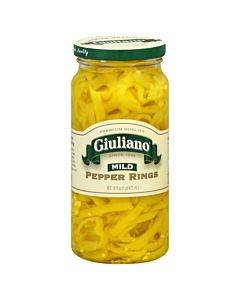 Giuliano's Specialty Foods - Pepper Rings - Mild - Case Of 6 - 16 Oz.