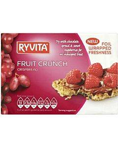 Ryvita Crisp Bread Crispbread - Currants Seeds And Oats - Case Of 8 - 7 Oz.