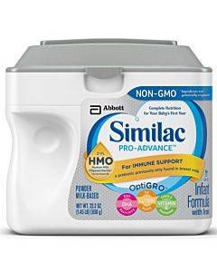 Similac Pro-advance Powder, Unflavored, 23.2 Oz. Part No. 66081 (1/ea)