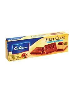 Bahlsen First Class Milk Chocolate Cookies - Case Of 12 - 4.4 Oz.