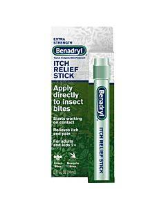 Benadryl Itch Relief Stick, 0.47 Fl Oz Part No. 17140 (1/ea)