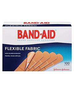 "Band-aid Flexible Fabric Strip Adhesive Bandag 3/4"" X 3"" Part No. 004434 (100/box)"