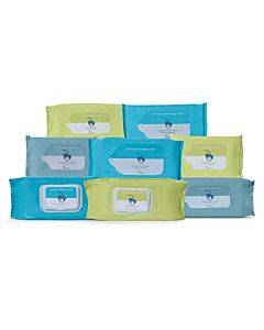 Cardinal Health Personal Cleansing Cloth, Non-flushable, Fragrance Free - 42 Pack Part No. 2awu-42 (42/package)