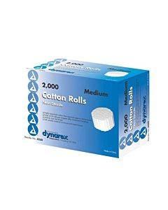 Dynarex  Cotton Roll Non Sterile 1/5  X 3/8  Bx/2000 Part No.3250