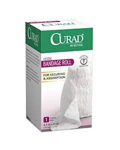 """Curad Cotton Bandage Roll, 4.5"""" X 4 Yd Part No. Cur25865erb (1/ea)"""