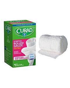"Curad Rolled Gauze Bandage, 3"" X 4-1/10 Yds. Part No. Cur47143rb (1/ea)"