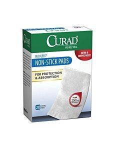 "Curad Non-stick Adhesive Pad, 2"" X 3"" Part No. Cur47147rb (20/box)"