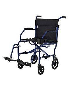 Ultralight Transport Chair, Blue Part No. Mds808200f3b (1/ea)