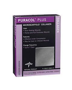 """Puracol Plus Collagen Dressing 4-1/4"""" X 4-1/2"""" Part No. Msc8644ep (1/ea)"""
