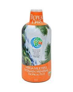 Tropical Oasis Tropical Plus Mega Multiple Vitamn Mineral - 32 Fl Oz